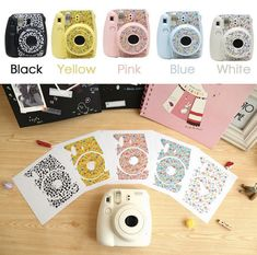 Fujifilm Instax Mini 8 Camera Sticker Decoration by NatureHobby