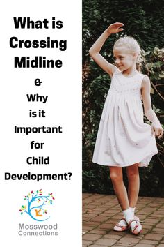 Crossing Midline is Important for Child Development #mosswoodconnections #grossmotor #sensory #childdevelopment #crossingmidline Sensory Balloons, Crossing Midline, Physical Skills, Gross Motor Activities, Sensory Integration, Learning Through Play, Children With Autism, Breastfeeding Tips, Special Needs