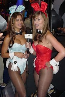 playboy bunny blue and red