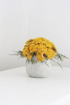 dried flower arrangement by floresdelsol