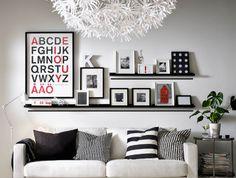 Como pendurar quadros na parede   decorandoonline