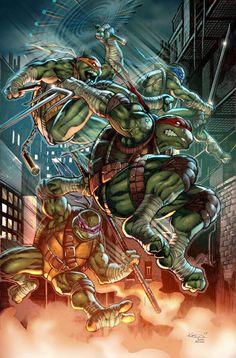 Tmnt by alex kotkin tmnt teenage mutant ninja turtles, ninja turtles art,. Teenage Ninja Turtles, Ninja Turtles Art, Comic Books Art, Comic Art, Arte Dc Comics, Tmnt Comics, Comic Manga, Martial, Fanarts Anime