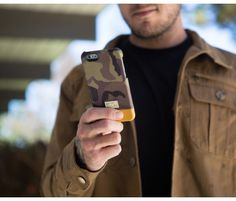 Focus Case for iPhone 6 Camo Leather | HEX