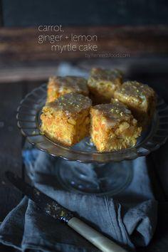 Carrot, ginger & lemon cake. So moist and so refreshingly zingy! | heneedsfood.com
