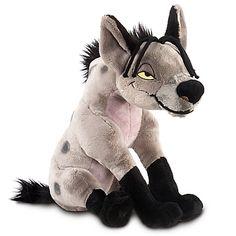 The Lion King Hyena Shenzi Plush Toy -- 11'' H