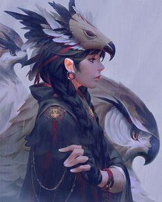 """炜炜 (@guweiz) sur Instagram : """"Feathers """""""