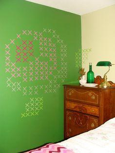 Washi Tape Wall Art | Rardon Design