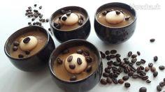 Kávovo-kakaový puding Ale, Pudding, Vegan, Fruit, Food, Ale Beer, Custard Pudding, Essen, Puddings