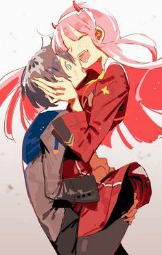 Hiro & zero two ❣ - Darling in the FranXX Anime Naruto, Querida No Franxx, Anime Zero, Cosplay Anime, Estilo Anime, Mecha Anime, Zero Two, Mädchen In Bikinis, Best Waifu