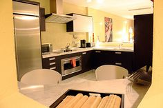 Fully Equipped Kitchen Rental Solutions, Sunny Isles Beach, Beach Vacation Rentals, Condominium, Desk, Kitchen, Photos, Home Decor, Desktop