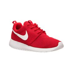 Nike Men's Roshe One Casual Shoes, Red ($75) ❤ liked on Polyvore featuring men's…