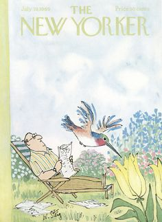 The New Yorker - Saturday, July 19, 1969 - Issue # 2318 - Vol. 45 - N° 22 - Cover by : William Steig
