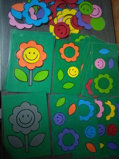 Bloemen versieren met opdrachtkaarten *liestr*