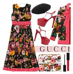 """""""GUCCI"""" by rasa-j ❤ liked on Polyvore featuring Gucci"""