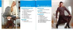Burda Tricot Hiver 2013, sommaire 1