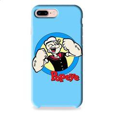 Popeye Cartoon iPhone 7 3D Case Dewantary