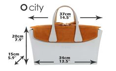 O city handbag measurements