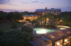 FODOR's: 10 Best Spa Trips for 2012- Lake Austin Spa Resort.  Cannot wait to return in October!