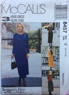 McCall's 8457 UNCUT Misses Dress by Lonestarblondie on Etsy