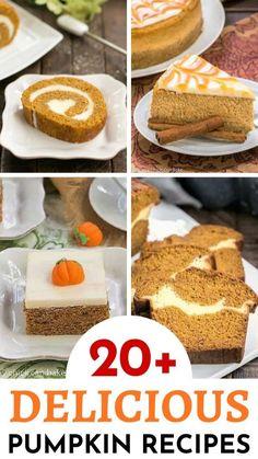 Homemade Desserts, Best Dessert Recipes, Fun Desserts, Delicious Desserts, Pie Recipes, Baking Recipes, Sweet Recipes, Dinner Recipes, Pumpkin Recipes