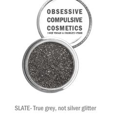 Slate OCC glitter NEW  This color is awesome!! Get it here!!  Gorgeous color. OCC, FULL SIZE & NEW!  Color: SLATE. These are micronized glitter, which photograph beautifully. High grade cosmetic glitter on Nordstrom.com. Multi function for tons of uses on face. Can also be used to mix with gel polish for rockstar nails. Great on the eyes for stunning evening and generally a great makeup kit addition. Any questions feel free to ask  come in its original plastic box. BUNDLE & SAVE!! Just ask…