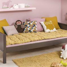 Chambre de petite fille bicolore