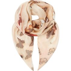 GIVENCHY Butterfly scarf and other apparel, accessories and trends. Browse and shop 8 related looks. Style And Grace, My Style, Alaska Fashion, Butterfly Scarf, Silk Shawl, Silk Scarves, Scarf Styles, Modern Fashion, Accessories
