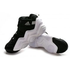 Popular Adidas Top Ten 2000 Mens Basketball Shoes - Black White  67.90 39d342003