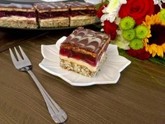 Wiśniowa pokusa - Blog z apetytem Deli Food, Pumpkin Cheesecake, 5sos, Tiramisu, Cherry, Food And Drink, Favorite Recipes, Sweets, Cooking