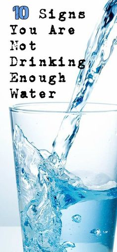 10 Warning Signs Indicates That You Are Not Drinking Enough Water Medi Idea Natural Health Tips, Be Natural, Natural Beauty, Health And Nutrition, Health And Wellness, Health Diet, Health Care, Fitness Diet, Health Fitness