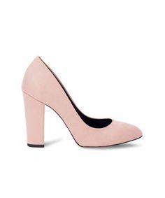MERAKI almond toe and block heel pump for 9 am to 9 pm purposes. Meraki, Pumps Heels, Block Heels, Almond, Toe, Fashion, Moda, Fashion Styles, Pumps
