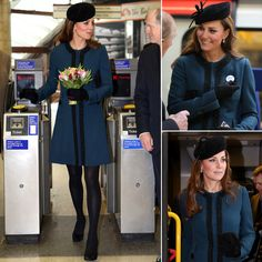 Kate Middleton Goes Underground For a Royal Appearance With the Queen | Check out all the photos