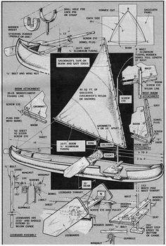 Resultado de imagen de free canoe plans