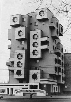 Wohnhaus an der Minskaja-Straße, 1980, Bobrujsk, Weißrussland