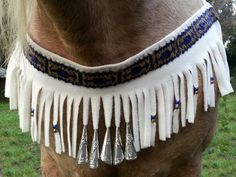 Beaded Arrows Equine Necklace  American Indian by MyBuddyBling