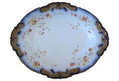 Antique  Flow Blue Serving Dish on OneKingsLane.com