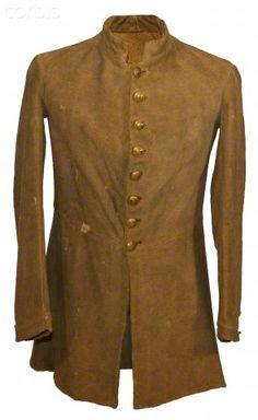 United States Civil War, Confederate butternut colored frock coat