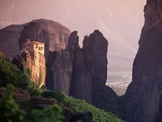 Mountains and monasteries, Greece