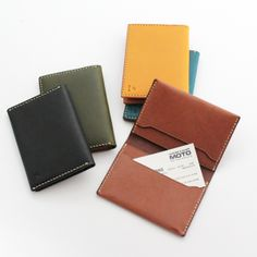 MOTO LEATHER CARD CASE CA1