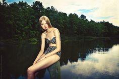 50's inspired Suzanne Rae Spring 2012 bikini.