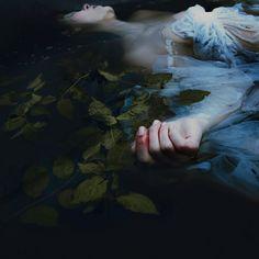 MIRA NEDYALKOVA * http://www.miranedyalkova.com * woman ~ death ~ water ~ still…