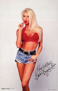 My idol Bobbie Brown.  I had a copy of this poster made for her!