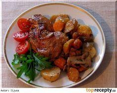 Zeleninové kuře z PH Pot Roast, Crockpot, Pork, Meat, Chicken, Ethnic Recipes, Carne Asada, Kale Stir Fry, Roast Beef