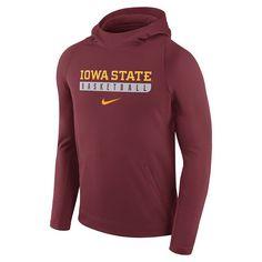 Men's Nike Iowa State Cyclones Basketball Fleece Hoodie, Red Other