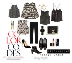 """""""Friday night"""" by joana-torres-de-sa on Polyvore featuring Closed, Kate Spade, Chanel, Uterqüe, CLUSE, MANGO, Tom Ford, Christian Louboutin and Victoria's Secret"""