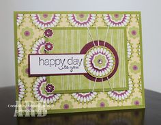 Escape2stamp: Stampin' Up! Friendly Phrases in the Floral District
