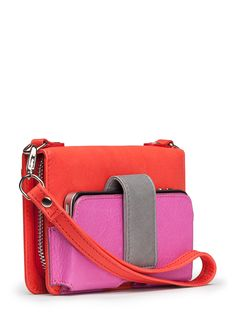 cross body clutch with pouch for phone!