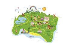 Marsh Mellow Island Map