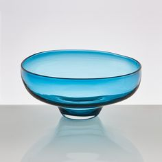 Michael Ruh Glass Blowing Studio - Coloured hand-blown glass bowl made by Michael Ruh