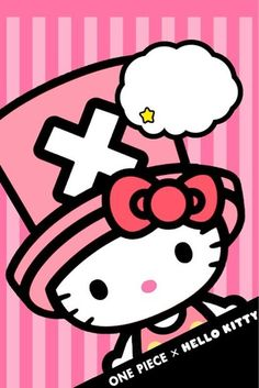 Hello Kitty One Piece - Just for you Carla. Sanrio Hello Kitty, Hello Kitty Art, My Melody Wallpaper, Hello Kitty Wallpaper, Hello Kitty Pictures, Kitty Images, Hello Kitty Costume, Hello Kitty Shoes, Baby Friends